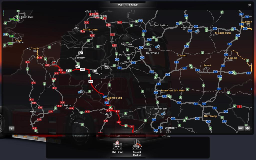 скачать игру на пк Euro Truck Simulator 4 - фото 11