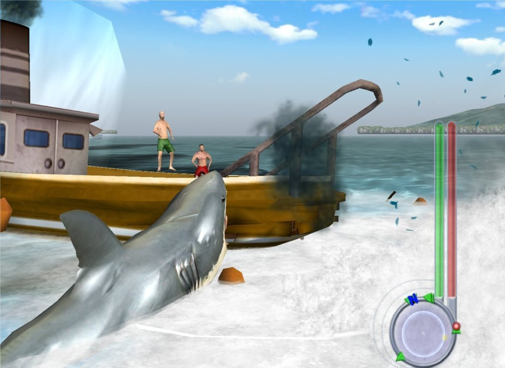 jaws unleashed story mission 2 game