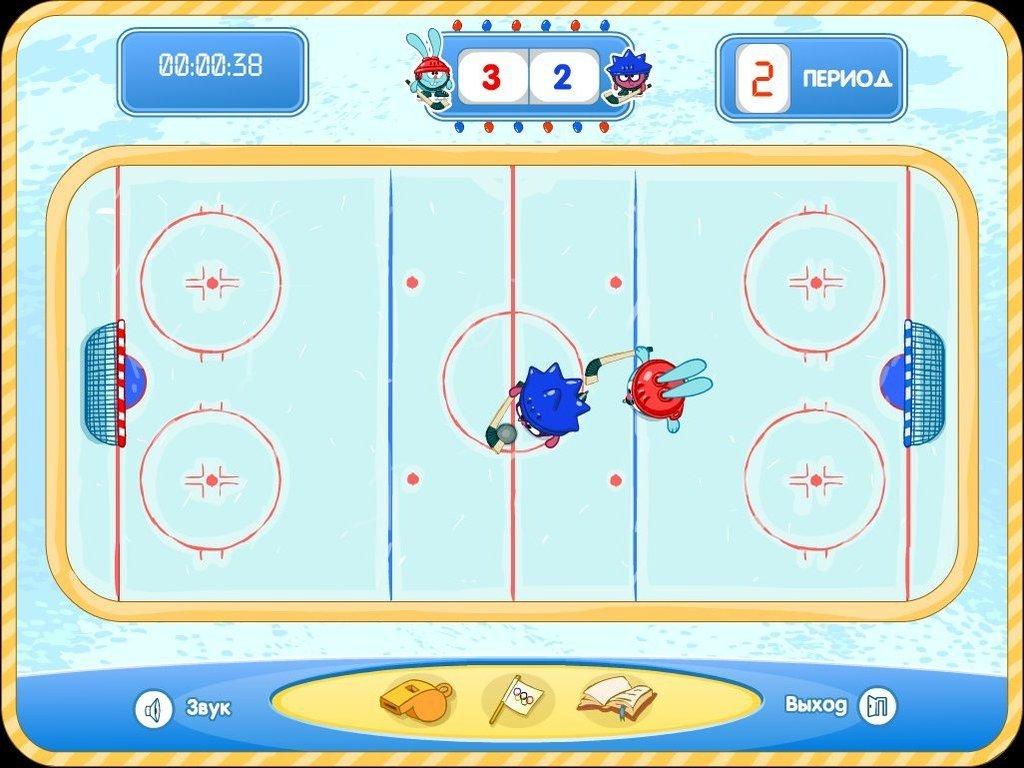 Игры хоккей играть видео