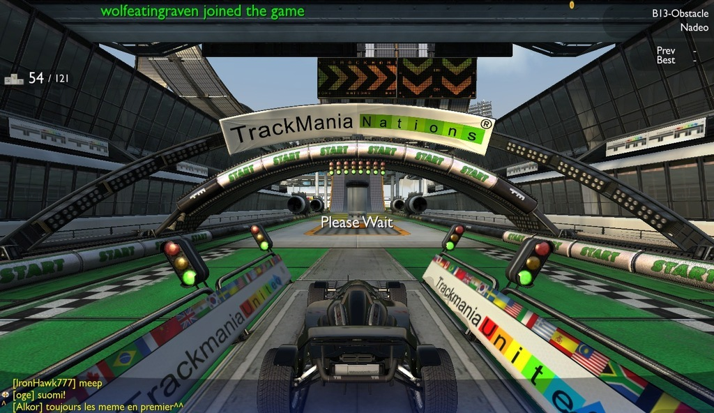 Trackmania Nations Forever for Mac OSX - PaulTheTall